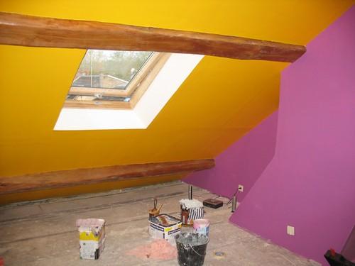 Une chambre pleine de couleurs vétue - le blog cheznousanous